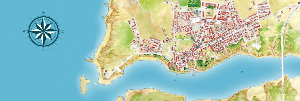 mapa vila nova de mil fontes Parish Council   Junta de Freguesia de Vila Nova de Milfontes mapa vila nova de mil fontes